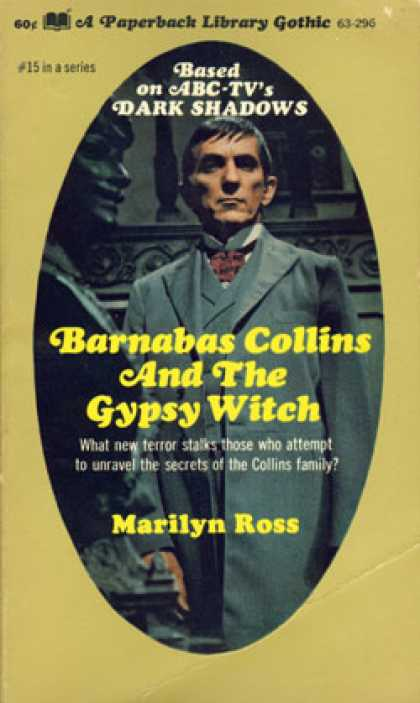 Vintage Books - Barnabas Collins and the Gypsy Witch.
