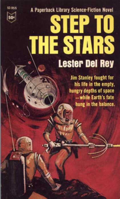 Vintage Books - Step To the Stars - Lester Del Rey