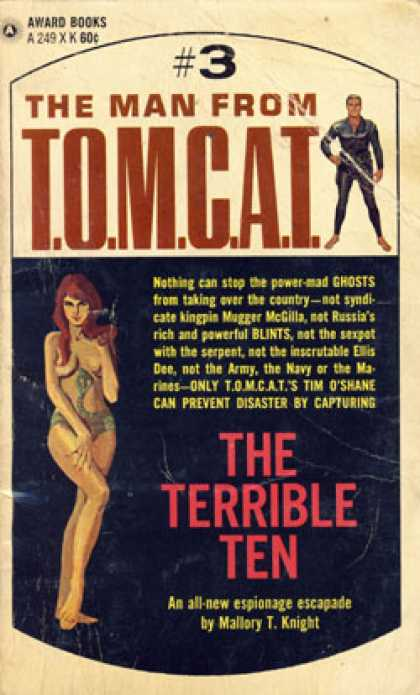 Vintage Books - The Terrible Ten