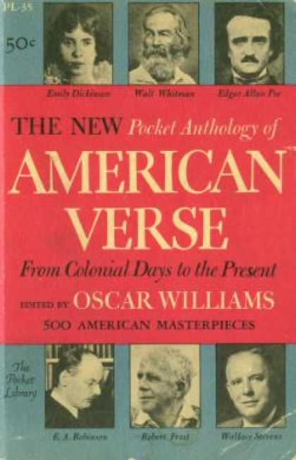 Vintage Books - The New Pocket Anthology of American Verse From Colonial Days To the Present - O
