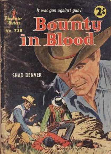Vintage Books - Bounty in Blood - Shad Denver