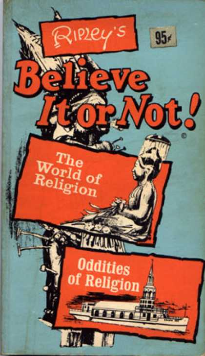 Vintage Books - Ripley's Believe It Or Not! The World of Religion