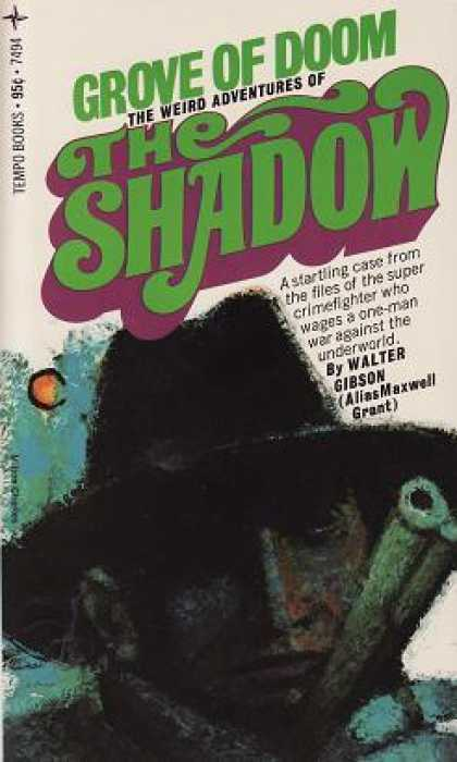 Vintage Books - Grove of Doom the Weird Adventures of the Shadow - Walter Gibson