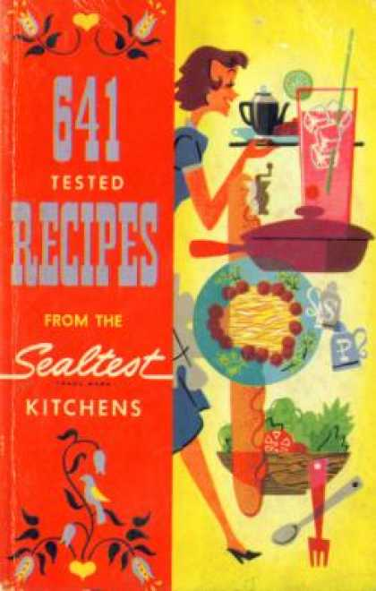 Vintage Books - 641 Tested Recipes From the Sealtest Kitchens