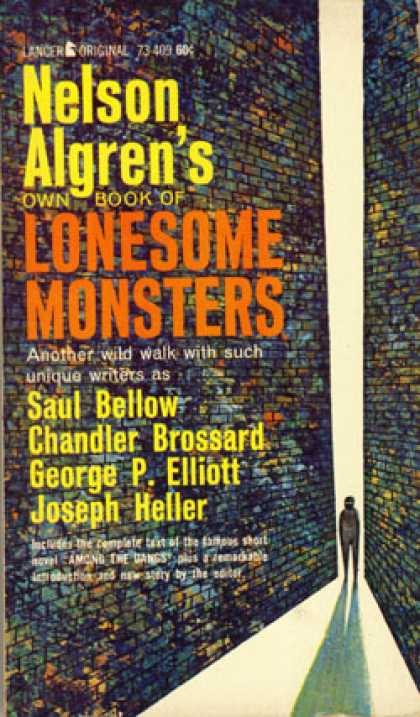 Vintage Books - 13 Masterpieces of Black Humor Nelson Algrens Own Book of Lonesome Monsters - Al