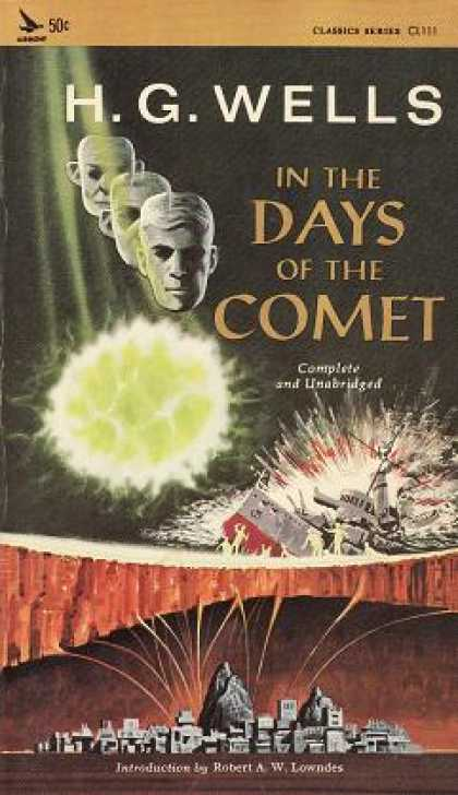 Vintage Books - In the Days of the Comet