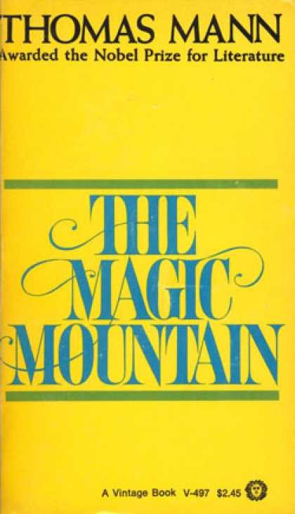 Vintage Books - The Magic Mountain - Thomas Mann