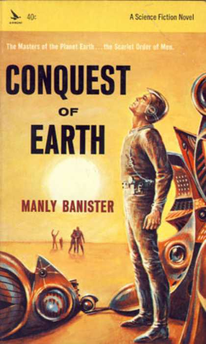 Vintage Books - Conquest of Earth - Manly Miles Banister