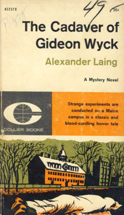 Vintage Books - The Cadaver of Gideon Wyck - Alexander Laing