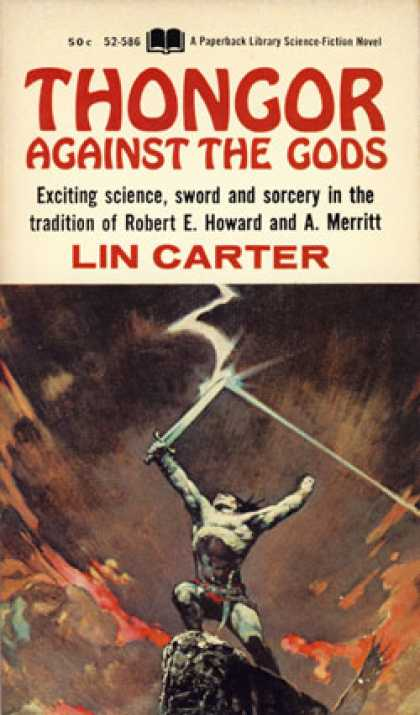 Vintage Books - Thongor Against the Gods - Lin Carter