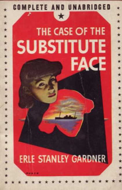 Vintage Books - The Case of the Substitute Face - Erle Stanley Gardner