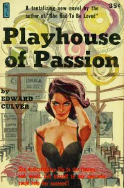 Vintage Books - Playhouse of Passion - Edward Culver