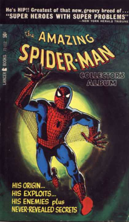 Vintage Books - Marvel Collector's Albums : The Amazing Spider-man and More