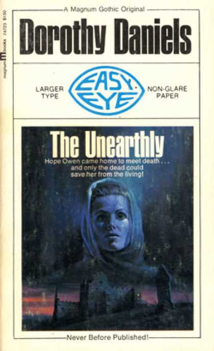 Vintage Books - The Unearthly - Dorothy Daniels