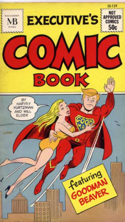 Vintage Books - Executive's Comic Book