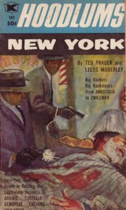 Vintage Books - Hoodlums New York - Ted and Moberley, Leeds Prager