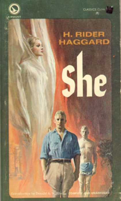 Vintage Books - She - H. Rider Haggard