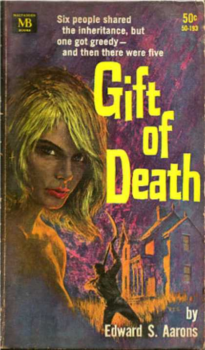 Vintage Books - Gift of Death - Edward S Aarons