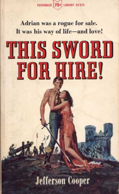 Vintage Books - This Sword for Hire! - Jefferson Cooper
