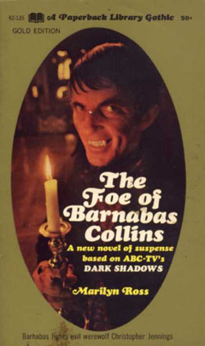 Vintage Books - The Foe of Barnabas Collins - Dark Shadows #9 - Marilyn Ross