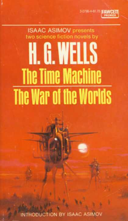Vintage Books - The Time Machine / the War of the Worlds