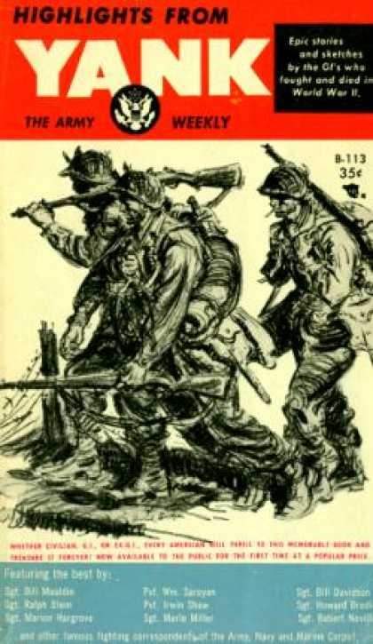 Vintage Books - Highlights From Yank : The Army Weekly - Ralph Stein, Marion Hargrove, Wm. Saroy