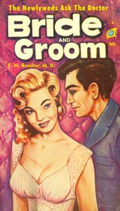 Vintage Books - Bride and Groom - F.M. Rossiter, M.D.