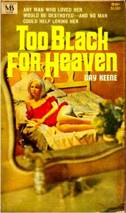 Vintage Books - Too Black for Heaven