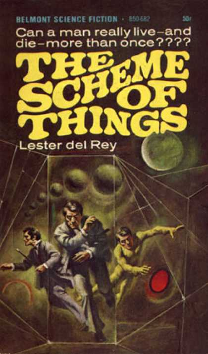 Vintage Books - The Scheme of Things - Lester Del Rey