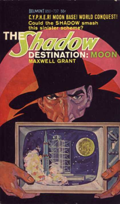 Vintage Books - The Shadow - Destination Moon