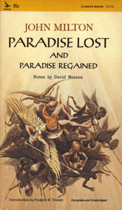 Vintage Books - Paradise Lost and Paradise Regained