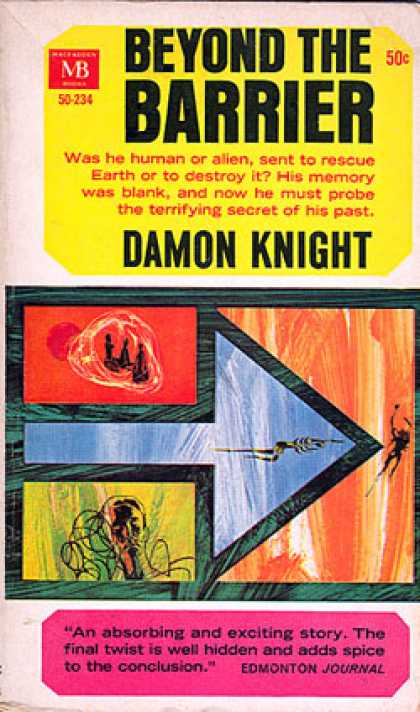 Vintage Books - Beyond the Barrier - Damon Knight