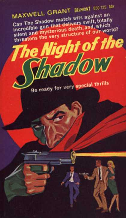 Vintage Books - Night of the Shadow - Maxwell Grant