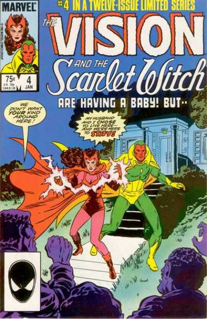 Vision and the Scarlet Witch 4 - Pete Woods - Kurt Busiek - Geoff Johns - Dc - 651
