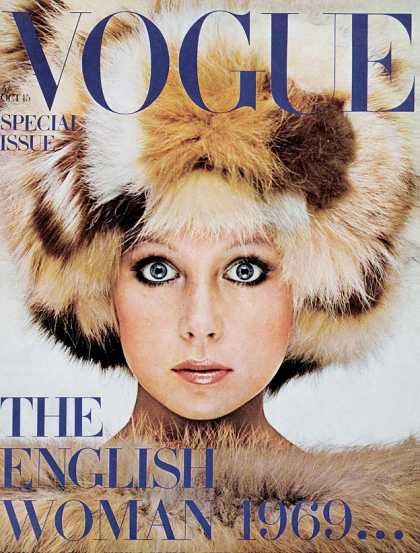 Vogue - Patti Boyd - October, 1969