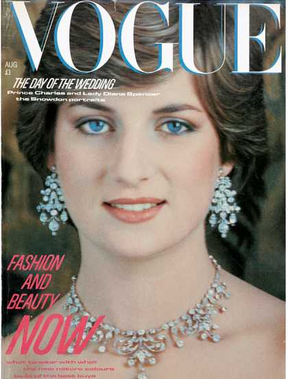 Vogue - Diana, Princess of Wales - August, 1981