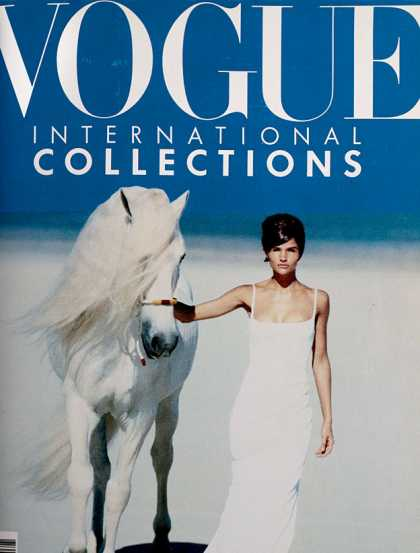 Vogue - Helena Christensen - March, 1990