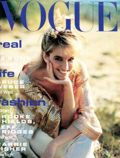 Vogue - Bonnie Berman - January, 1991