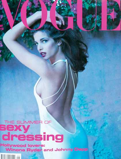 Vogue - Stephanie Seymour - May, 1991