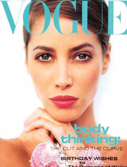 Vogue - Christy Turlington - July, 1991