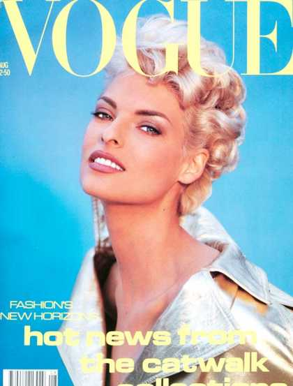Vogue - Linda Evangelista - August, 1991