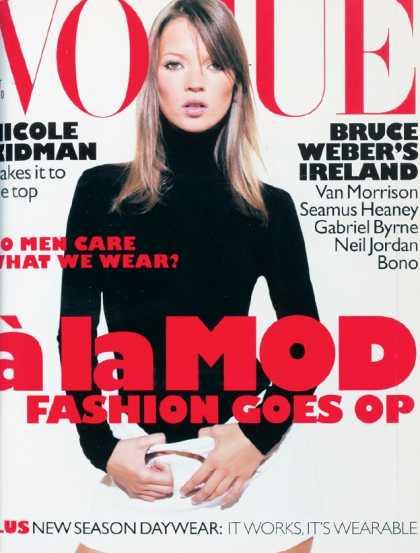 Vogue - Kate Moss - October, 1995