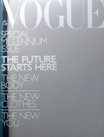 Vogue - December, 1999