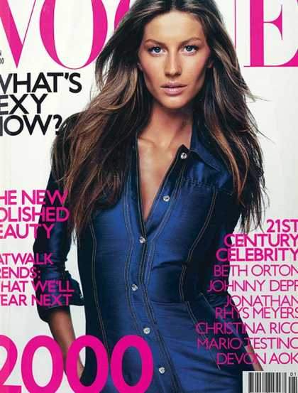 Vogue - Gisele Bundchen - January, 2000