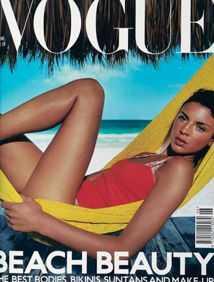 Vogue - Liberty Ross - June, 2000