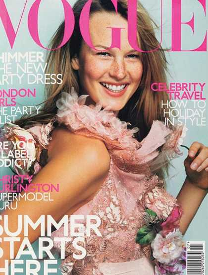 Vogue - Amy Lemons - July, 2000