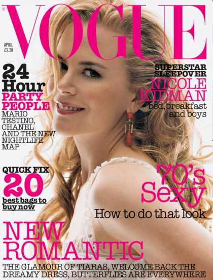 Vogue - Nicole Kidman - April, 2002