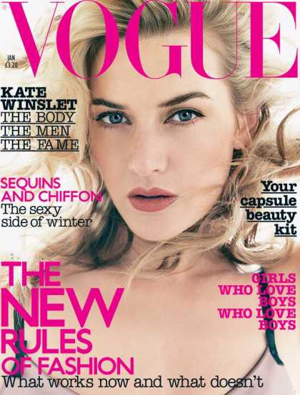 Vogue - Kate Winslet - January, 2003