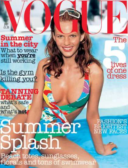 Vogue - Anne Vyalitsyna - July, 2003
