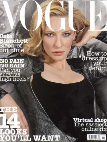 Vogue - Cate Blanchett - February, 2004